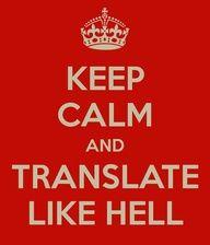 Los duros comienzos del traductor...