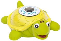 Ozeri Turtlemeter The Baby Bath Floating Turtle Toy and Bath Tub Thermometer, http://www.amazon.com/dp/B003ZFPRHS/ref=cm_sw_r_pi_awdm_x_vCmdybP2TTGN5