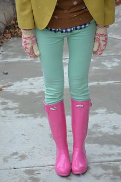 Preppy and colorful