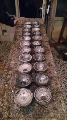 Ciotole in ceramica raku...finalmente pronte!