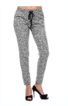 Trendy Drawstring Jogger Pants