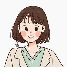 Cute Art Styles, Cartoon Art Styles, Cute Illustration, Character Illustration, Character Art, Character Design, Cute Couple Wallpaper, Dibujos Cute, Korean Art