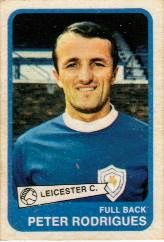 Peter Rodrigues of Leicester City in 1969.