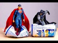 Superhéroes Fotoarte con Figuras de Acción