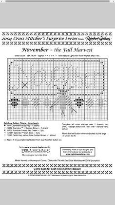 Fall Harvest - November #11 Design By: Erica Michaels