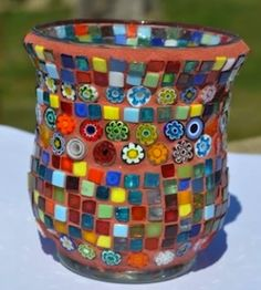 Mosaic Art & Craft Project Ideas - Mosaic Tiles, Mosaics & Mosaic Supplies Online, How to Mosaic Art Craft