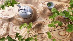 Стильный поднос для чаепития от компании Artonomos