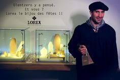 Notre nouveau fan ! #Olentzero #Noël #bijoux #cadeaux