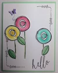 230 best images about Cards-Watercolor Doodle Drawings, Doodle Art, Karten Diy, Paint Cards, Watercolor Cards, Watercolour, Flower Cards, Diy Cards, Homemade Cards