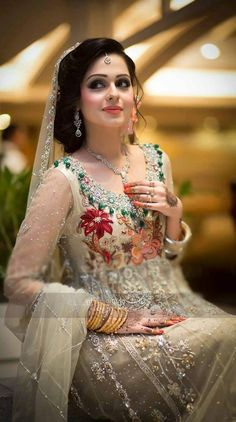 beautiful Pakistani bride...