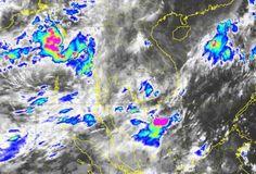 """พายุ """"โรอานู"""" อ่อนกำลังลงส่งผลให้ """"ไทยตอนบน"""" มีฝนเพิ่มขึ้น และมีฝนตกหนัก-หนักมาก"""