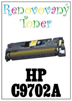 Renovovaný toner HP 121A / HP C9702A za bezva cenu 1125 Kč