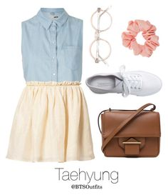 """""""Fair with Taehyung"""" by btsoutfits ❤ liked on Polyvore featuring Topshop, See U Soon, Reed Krakoff, Miss Selfridge and Aéropostale"""