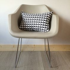 Rectangular Flock Aldgate Ink Scatter Cushion by FlorrieandBill