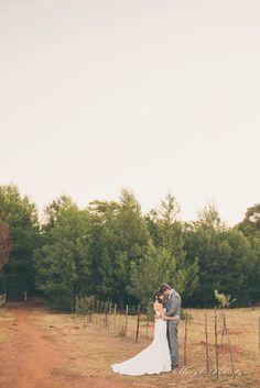 Farm wedding couple shoot