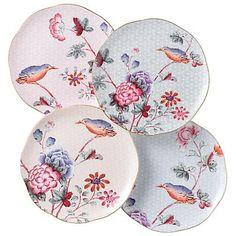 Wedgwood cuckoo tea plates