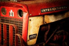 Old tractor  By Pams Photography