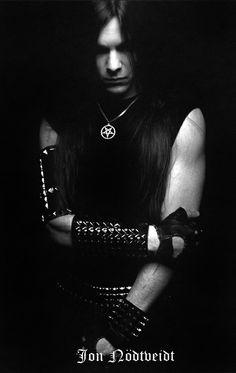 "Jon ""Rietas"" Nödtveidt, Dissection/The Black. Reign In Chaos, 13-08-2006. <3"