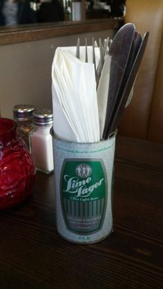 Great idea for a pub themed party or cookout!