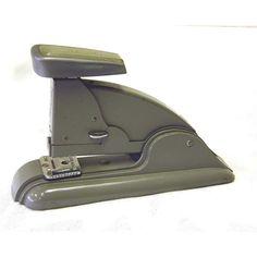Vintage 1950s Grey Swingline Speed Stapler No3 Works by atomickatz,