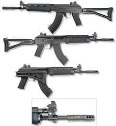 Rifle Dynamics / 500 Series AK rifle in 5 45x39, the RD501 with side