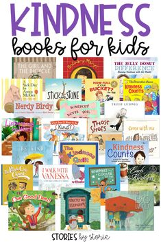 As teachers, we want our students to be kind to others. Books can help us send the message that kindness is important and something we value. Through these books, we can show students how to see the good in others, how to be there for other people, how to