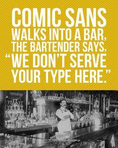Comic Sans Joke