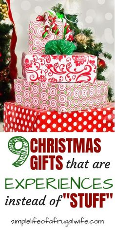 Give gifts that are Experiences, not Stuff this Christmas Non-toy gifts for kids can ease the chaos and stress of the season. Here are some non-toy gift ideas for kids this Christmas. Frugal Christmas, Family Christmas Gifts, Christmas Traditions, Christmas Fun, Holiday Gifts, Christmas Presents For Parents, Christmas Planning, Gift Wrapping Ideas For Christmas For Kids, Christmas Gift Alternatives
