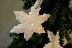 Cloud Clay - DIY snowflakes ... Refresh Restyle