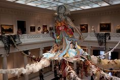 swoon's thalassa at the new orleans museum of art