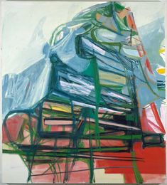 Amy Sillman, Big Girl, Oil on canvas, 72 x 80 inches. Courtesy Sikkema Jenkins & Co, NY. Amy Sillman, Abstract Drawings, Abstract Art, Smart Art, Feminist Art, Art Base, Art Sketchbook, Contemporary Paintings, Abstract Expressionism