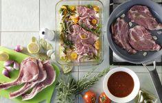 Δυο μυστικά νοστιμιάς για τις χοιρινές μπριζόλες - Γαστρονομία - Συμβουλές   γαστρονόμος Pork Meat, Beef, Diy Food, Fresh Rolls, Meat Recipes, Cooking Tips, Ethnic Recipes, Meat Food, Foods
