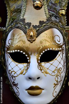 Carnival masks in Florence, Italy