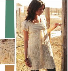 muçambê artesanato: Vestido em Crochê- Estilo Clássico