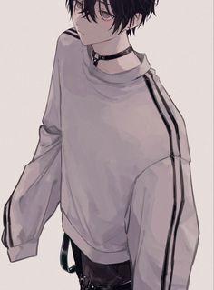 Anime Demon Boy, Dark Anime Guys, Cool Anime Guys, Handsome Anime Guys, Hot Anime Boy, Anime Art Girl, Anime Boy Hair, Manga Anime, Oc Manga