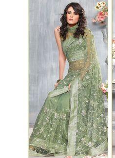 modern indian sari