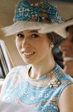 The young and beautiful Princess Anne.