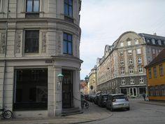 Street view, inner city Bricks, Copenhagen, Copper, Street View, City, Brick, Cities, Brass