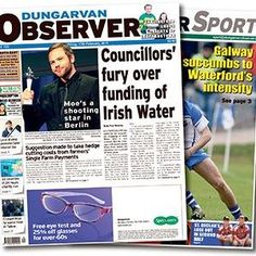 """Dungarvan Observer : """"Countdown to Waterfor SG begins as programme of over 35 events announced"""" October, Events, How To Plan, Sports, Hs Sports, Sport"""