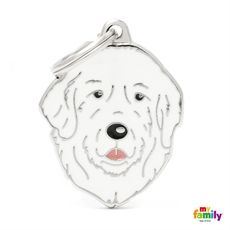 Show details for Patou Dog Tag Free incision www.myfamily.it