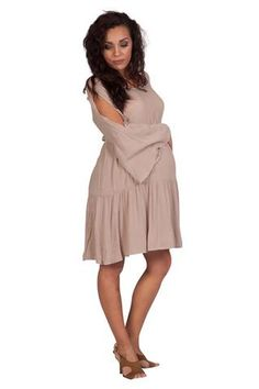 Hip Maternity Dresses-Ladylike Complexity