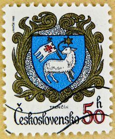 great stamp from former Czechoslovakia (Czechia & Slovakia)