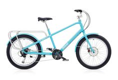 The Carry On is a clean utility cargo bike that will carry a baby seat and 4 large grocery bags, or all the gear you need for a fun beach day or a camping tr. Le Cargo, Cargo Bike, Mk1, Custom Vespa, Adult Tricycle, Honda 125, Bicycle Rims, Bike Brands, Urban Bike
