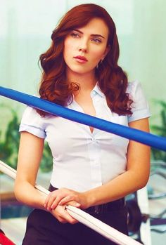 Watched Iron Man 2, now coveting ScarJo's red hair.