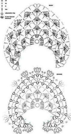 chales en crochet patrones (3)