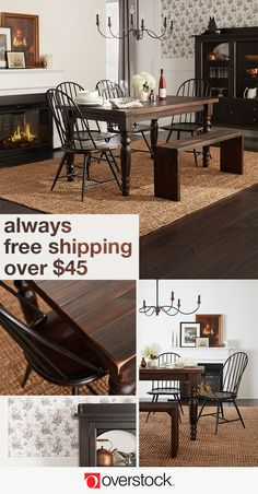 Find everything you need to give your dining room a Colonial decor refresh at Overstock.com. Shop thousands of products and beautiful new furniture at the lowest prices---coffee tables, lamps, home décor, and more! Overstock.com -- All things home. All for less.