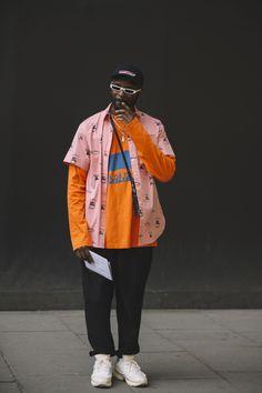 dfdedbc56c Street Style  London Fashion Week Men s Day 1