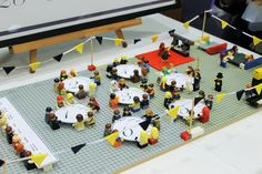 Lego seating plan for a wedding! this was totally awesome for our awesome wedding!