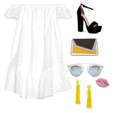 """""""w/y"""" by natalie20927 on Polyvore featuring Elizabeth and James, Boohoo, âme moi, Christian Dior, BaubleBar and Lime Crime"""