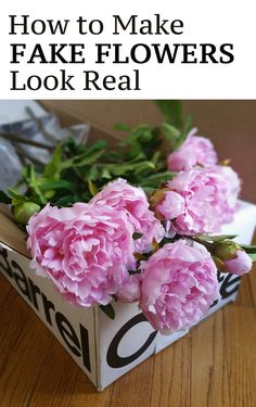 Tips and tricks on how to make fake flowers look realistic. via 2019 Tips and tricks on how to make fake flowers look realistic. via The post Tips and tricks on how to make fake flowers look realistic. via 2019 appeared first on Flowers Decor. Fake Flowers Decor, Artificial Flower Arrangements, Faux Flowers, Real Flowers, Diy Flowers, Flower Decorations, Fabric Flowers, Paper Flowers, Flower Diy
